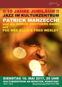 Jazz im Kulturzentrum 16. Mai 2017 Poster