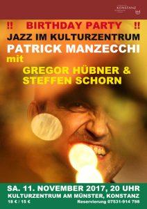 2017-11-11 Jazz im Kulturzentrum Mk2 Poster
